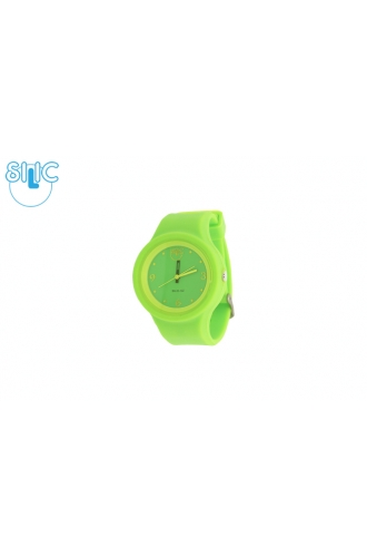 Silic Watch COLOR Round Babe - zelená variace