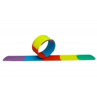 Náramek Silic® Slap Band - rainbow